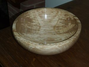 Bowl Made from Beech with White Rot: Bernhard Hofmann