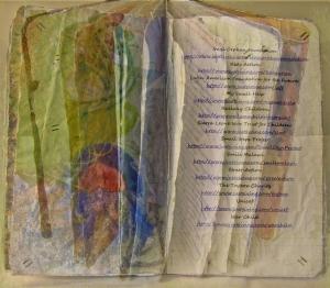 The Dust of Life Silk Print Series: IX