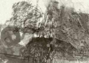 Monoprint B & W Torcay