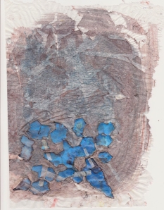 Below the Line Blue Cells Collage 24 February 2013