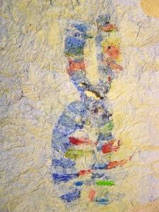 Paste Paint Paper Stencil Attempt