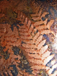 Copper Patination: Ferns I