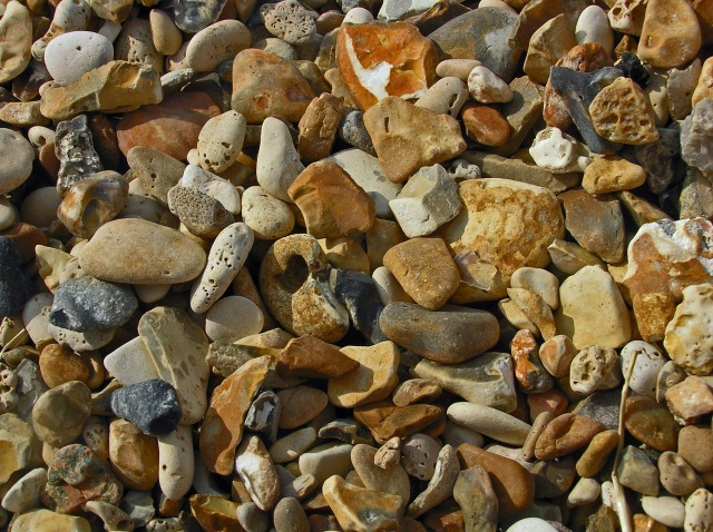 Beach Pebbles Whitstable Kent