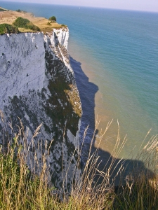 White Cliffs of Dover at St Margaret's Bay, Kent, August 2013