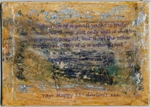 Albin Vega Back Serdar's 53 Birthday Card 30 September 2013