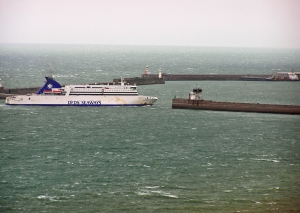 Entrance Port of Dover DFDS Ferry