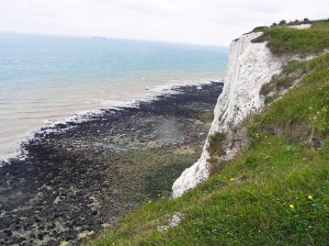 White Cliffs above St Margarets Bay, Kent