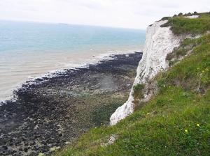 White Cliffs above St Margarets Bay, Kent