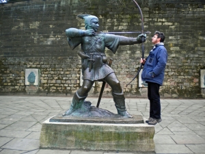 Robin Hood Statue, Nottingham Castle