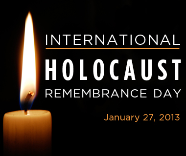 International Holocaust Remembrance Day January 27 2015