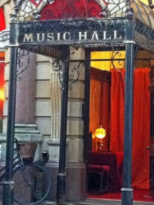 Jekyll and Hyde Filming Music Hall 17 February 2015