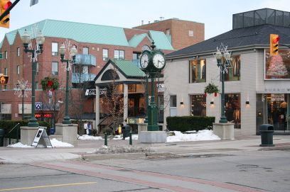 """Oakville-Ontario-Downtown"" by Whpq - Own work. Licensed under CC BY-SA 3.0 via Commons - https://commons.wikimedia.org/wiki/File:Oakville-Ontario-Downtown.JPG#/media/File:Oakville-Ontario-Downtown.JPG"