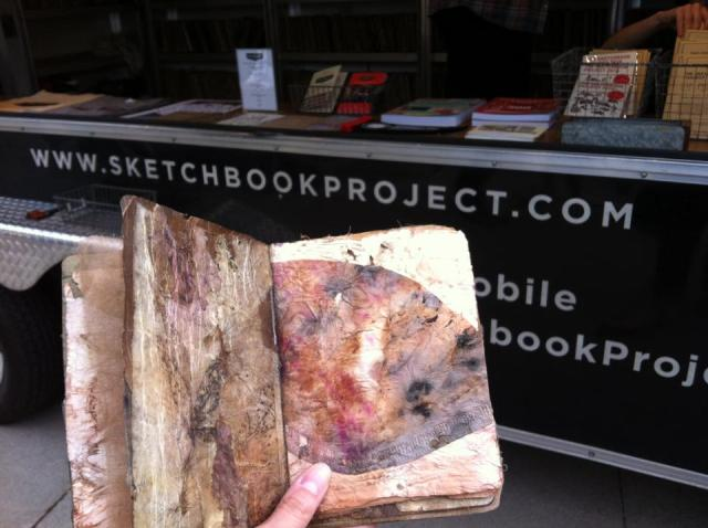 Art House Coop Tour 2015 My Sketchbook at Oakville Ontario August 2015