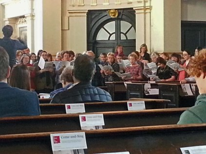 St Martin-in-the-Fields Handel Coronation Anthem Come and Sing Performance I Saturday 31 October 2015