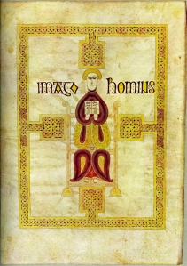 Echternach Gospels The Man Symbol of St Matthew 1 March 2016