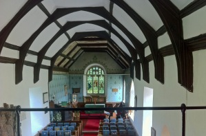 Church With Ankhs Interior Shot James First Coat of Arms Medieval Bible Cover August 2016