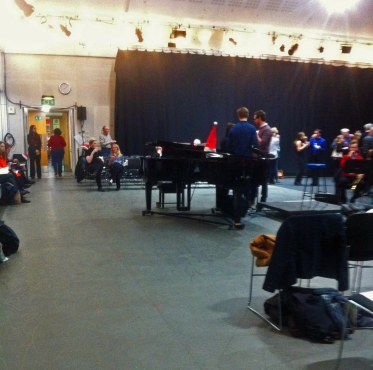 Clore Studio, Royal Opera House, Covent Garden, 15 December 2016